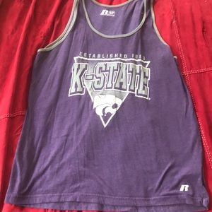 Tops - K State Tank Top Unisex Size XL